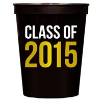 Class of 2015 Black Stadium Cups