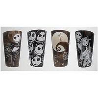 Nightmare Before Christmas Pint Glass Set - Spencer's