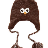 Charlotte Russe - Hooty Owl Trapper Hat