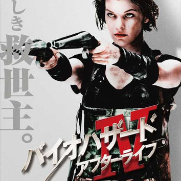 Resident Evil: Afterlife (Japanese) 11x17 Movie Poster (2010)