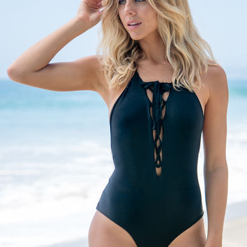 Aila Blue - Spirit One Piece | Black