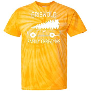 Griswold-Family-Christmas CD100 100% Cotton Tie Dye T-Shirt