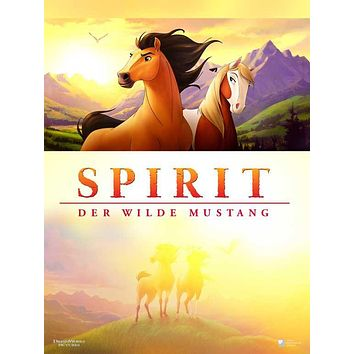 Spirit: Stallion of the Cimarron (German) 27x40 Movie Poster (2002)
