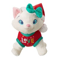 Disney Store Marie Holiday Plush The Aristocats Medium New with Tags