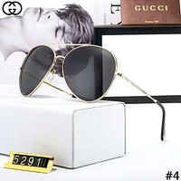 GUCCI Tide brand large frame driving polarized sunglasses #4
