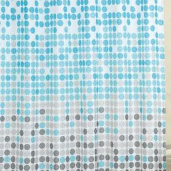Lluvia Jacquard Fabric Shower Curtain
