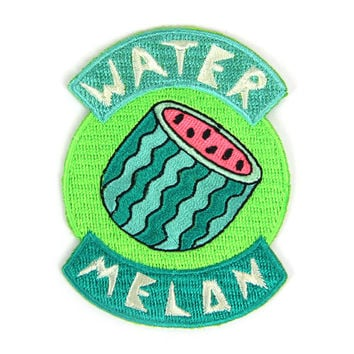 Watermelon Iron On Patch