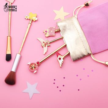 Free shipping card captor cardcaptor sakura 20th anniversary sailor moon makeup brush/Cosmetic brush wands Foundation Brush