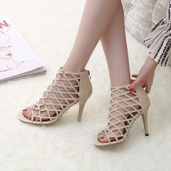 Gladiator High Heel Sandals
