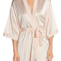 Mimi Holliday 'Lilium' Silk Robe | Nordstrom