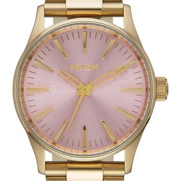 Nixon 'Sentry' Bracelet Watch, 38mm | Nordstrom