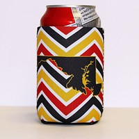 Chevron Crab & State of Maryland / Koozie