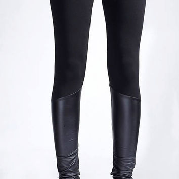 Black Leggings, Eco Leather Leggings, Womens Leggings, Fall Pants, Fashion Leggings, Modern Pants, Hot Pants, Sexy Pants, Unique Pants