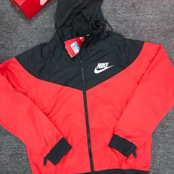 Nike Hot Trending Women Men Casual Hoodie Zipper Cardigan Sweatshirt Jacket Coat Windbreaker Sportswear