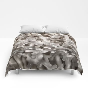 Celestite Frost Comforters by UMe Images