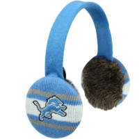 47 Brand Detroit Lions Womens Matchup Ear Muffs - Light Blue