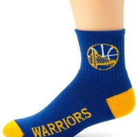 NBA Golden State Warriors Men's Team Quarter Socks, Medium