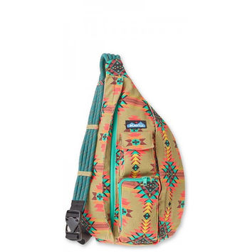 Monogrammed Kavu Rope Bags - Mojave Dunes - Great gift for College, Teens, Women, Outdoors Satchel Crossbody Tote