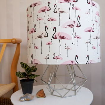 Handmade Flamingo Party Lampshade