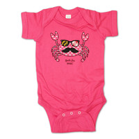 Fun Crab Disguise (Pink) / Baby Onesuit