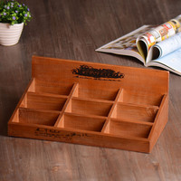 Home Decoration Weathered Vintage Storage Box Gifts Home Decor [6282555462]