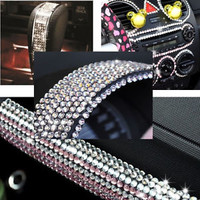 500pcs 6mm Diamond Crystal Rhinestone Sheet Car DIY Decoration Sticker Decal