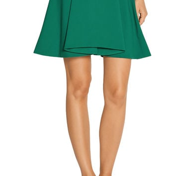Opening Ceremony Walt pleated stretch-crepe mini skirt – 60% at THE OUTNET.COM
