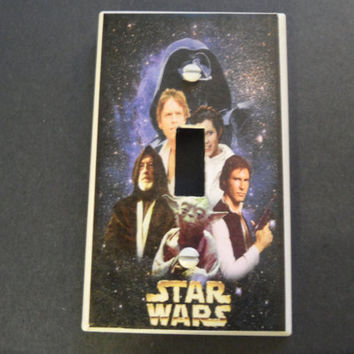 Star Wars Light Switch Cover by myevilfriend on Etsy