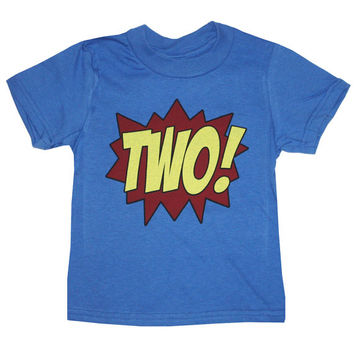 Superhero 2nd Birthday T-Shirt