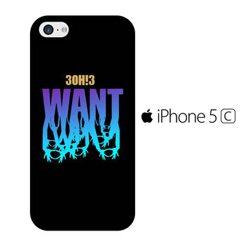 3OH!3 Want iPhone 5C Case