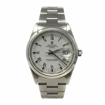 Rolex Date swiss-automatic womens Watch 15200 (Certified Pre-owned)