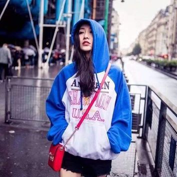 Vetements Women Men Fashion Hooded Top Sweater Pullover Sweatshirt G-CN-CFPFGYS
