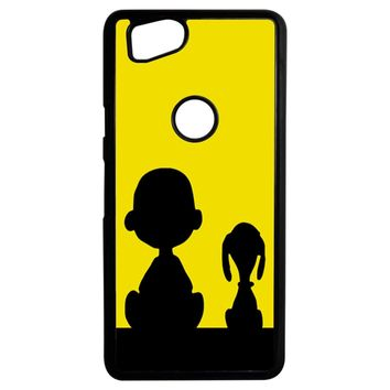Snoopy And Charlie Brown Google Pixel 2 Case