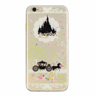 Cinderella Castle Case for iPhone 5 5s 6 6S 6S Plus Fun