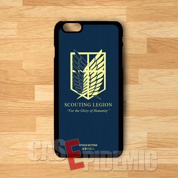 SNK Wings Of Freedom symbol -NDA for iPhone 6S case, iPhone 5s case, iPhone 6 case, iPhone 4S, Samsung S6 Edge