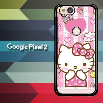 Hello Kitty Candy Pink L1944 Google Pixel 2 Case
