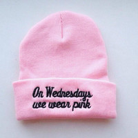 On Wednesday We Wear Pink Beanie