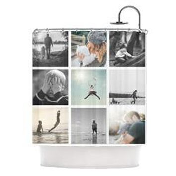 Backdrop Outlet Custom Shower Curtain - CUSSC01