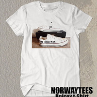 One Direction Shirt The Shoes Symbol Printed on White t-Shirt For Men or Women Size TS 74