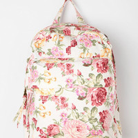 Urban Outfitters - BDG Floral Collage Backpack