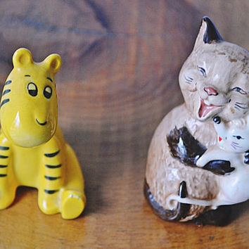 Beswick Figurines, Cat And Mouse Figurine, Tigger Figurine, Collectible Figurines