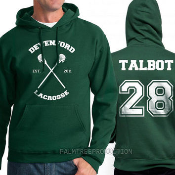 Talbot 28 Devenford Prep Lacrosse Teen Wolf Unisex Hoodie S to 3XL