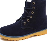 Fashion Unisex Winter Boots Comfortable Ankle Men Boots Quality Leather Footwear Warm Fur Casual Shoes Lover Couple Boots