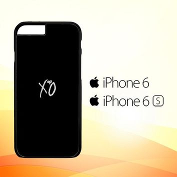 Xo The Weeknd Text Logo E0981 iPhone 6|6S Case