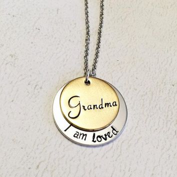 Mother's necklace - Stacking necklace -