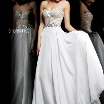 2014 Sherri Hill Sweetheart Prom Dress 1923