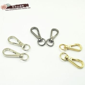 High quality DIY bag parts dog buckle bag strap hook  handbag hardware bag clasp purse hook bag carabiner