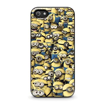MINIONS COLLAGE iPhone 5 / 5S / SE Case Cover