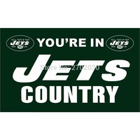 You Are In New York Jets Flag Country Banners Football Team Flags 90x150cm Banners Decoration