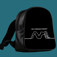 Arctic Monkeys Do I Wanna Know for Backpack / Custom Bag / School Bag / Children Bag / Custom School Bag ***